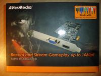 AVerMedia Game Broadcaster HD