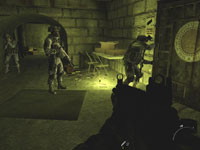 Скриншот из игры Call of Duty 4: Modern Warfare 2