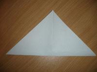 Создание оригами Лягушка - Шаг 1