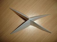 Создание оригами Лягушка - Шаг 2