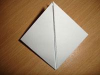 Создание оригами Бомбочка - Шаг 4