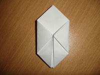 Создание оригами Бомбочка - Шаг 7