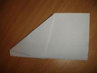 Создание оригами Самолётик - Шаг 4