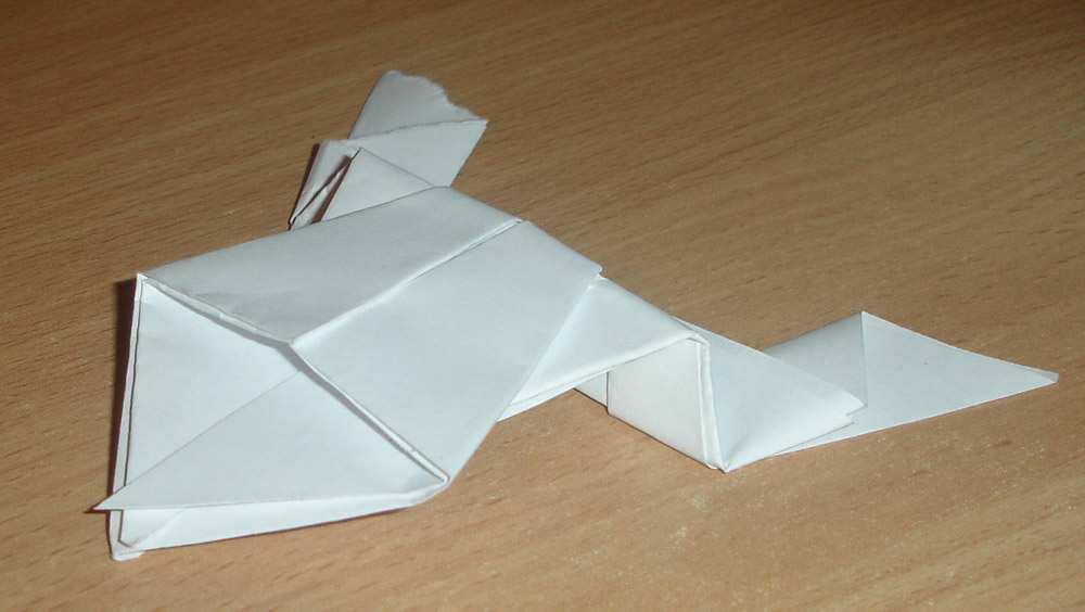 Схемы оригами для детей оригами лочка.
